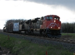 CN 8885 at Mile 260 Kingston Sub.